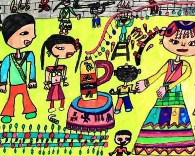 全国美术教育针对于少儿的高峰论坛开幕:为爱前行