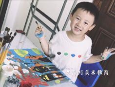 儿童在4-6岁的绘画中,会很自信的、 灵活的、连贯的表现自己独一无二…
